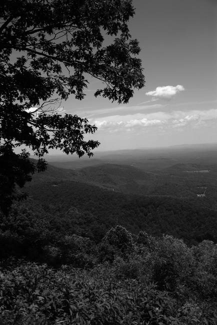 Blue ridge mountains virginia by ffooter 2009