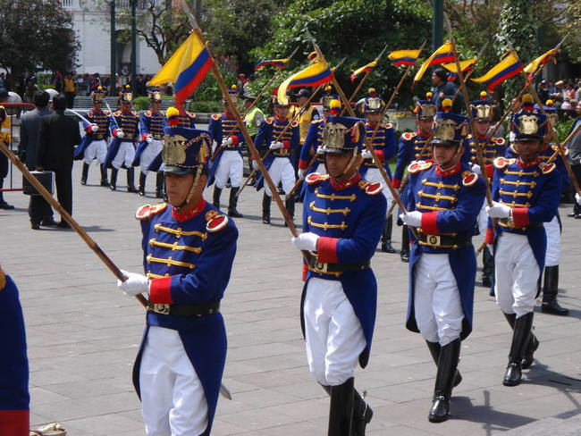 Presidential Guard on Parade