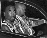 Tupac Limited Edition Black&White version