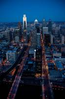 2011 Philadelphia Night Skyline
