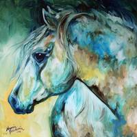MOONLIGHT AURA EQUINE by Marcia Baldwin