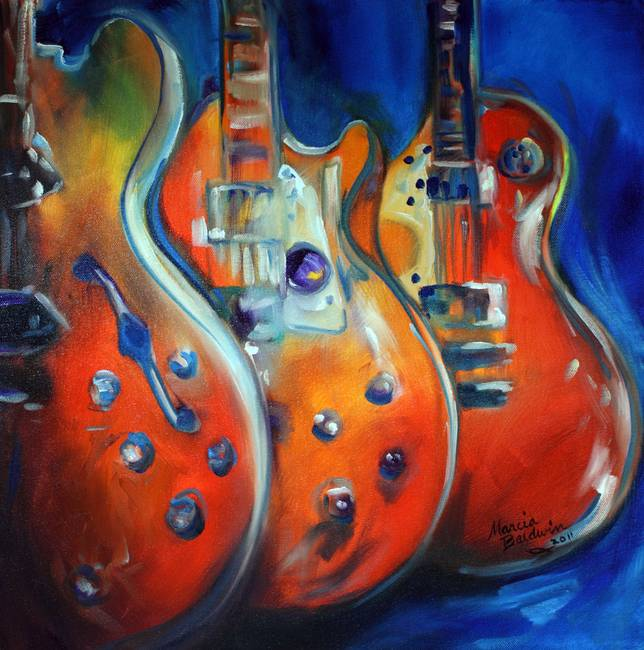 3 GUITAR ABSTRACT