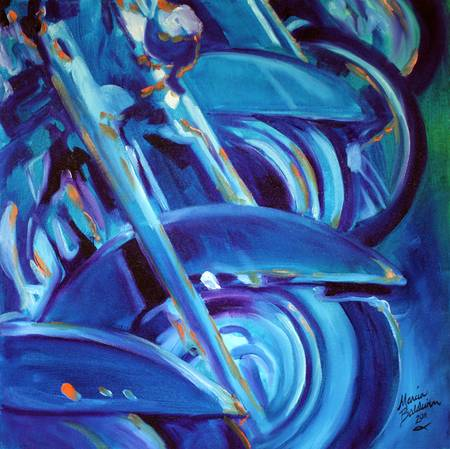 MOTORCYCLE ABSTRACT ROADKING