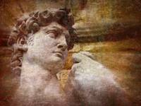 Michelangelo's David - Florence, Italy (textured)