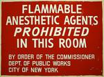 Flammable Anesthetics