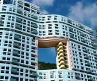 Feng Shui apartment building in Hong Kong