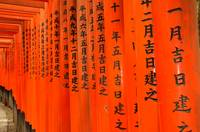 Detail from Fushimi-Inari Shrine, Kyoto, Japan