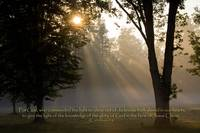 scripture god comanded the light-Jesus