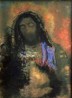 Sacred Heart, 1910 (pastel) by Odilon Redon