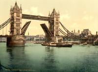 TOWER BRIDGE LONDON 1895