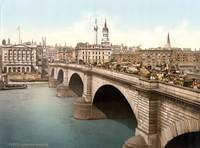 LONDON BRIDGE 1895