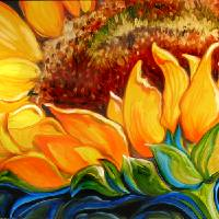 SUNFLOWER RISE'N SHINE by Marcia Baldwin