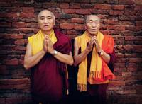 Venerable Khenpo Tsewang Dongyal Rinpoche and Vene