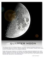 Quarter Moon Large Art
