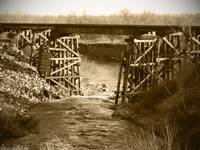OldTime Wooden Trestle