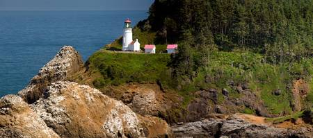 Heceta Head Lighthouse pano 1