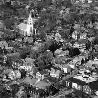 Downtown Black and White by George Riethof