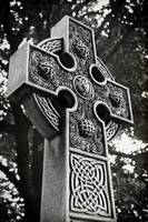 Celtic Cross in Black and White