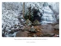 Whiter Than Snow (waterfall and scripture)