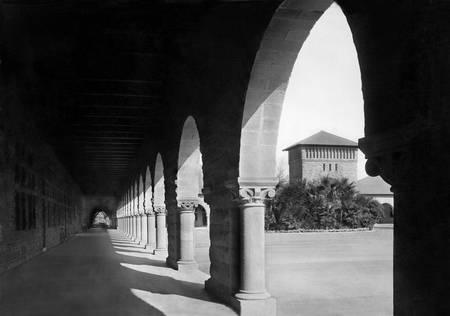 Stanford Quad c1900