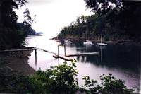Cove on Vancouver Island, British Columbia, Canada
