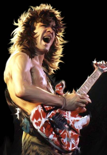 Eddie Van Halen By Chris Cartledge