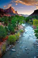 Twilight On The Virgin River