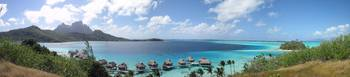 Bora Bora Sofitel Motu view Panoramic