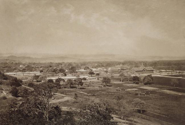 Rancho de Palo Alto, by Mubridge, c1870