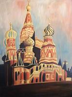 St. Basil's Cathedral Moscow Red Square