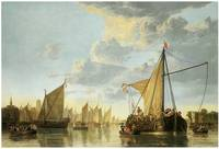 The Maas at Dordrecht by Aelbert Cuyp