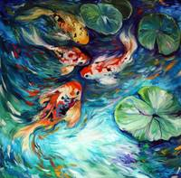DANCING COLORS KOI
