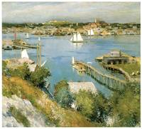 Gloucester Harbour by William Leroy Metcalf