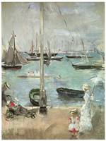 West Cowes; Isle of Wight by Berthe Morisot
