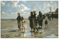 Oyster Gatherers at Cancale by John Singer Sargent