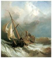 On the Dogger Bank by Clarkson Stanfield