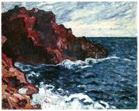 Violet Cliffs by Louis Valtat