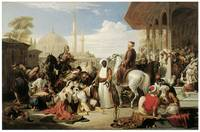 Slave Market in Constantinople by William Allan