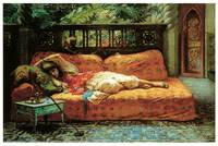 Siesta (Afternoon in Dreams) by Frederick Bridgman