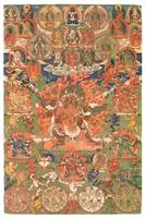 Chemchok Heruka with Deities of the Bardo