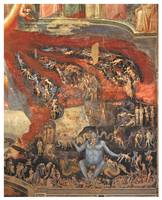 The Last Judgement (detail) by Giotto di Bodone
