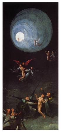 Ascent to the Empyrean by Hieronymous Bosch