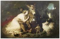 Titania and Bottom by Edwin Henry Landseer