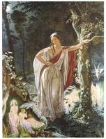 Hermia and the Fairies by John Simmons