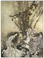 Dancing with the Fairies by Arthur Rackham