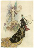The Fairy Welcomed Her Majesty by Warwick Goble