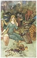 Buy from Us with Golden Curl by Warwick Goble