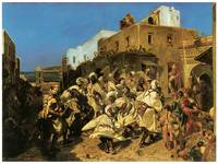 Dance of the Blacks in Tangier by Alfred Dehodencq