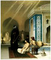 Pool in a Harem by Jean-Leon Gerome
