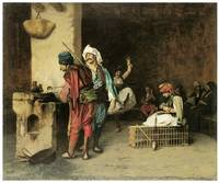 A Cafe in Cairo by Jean-Leon Gerome